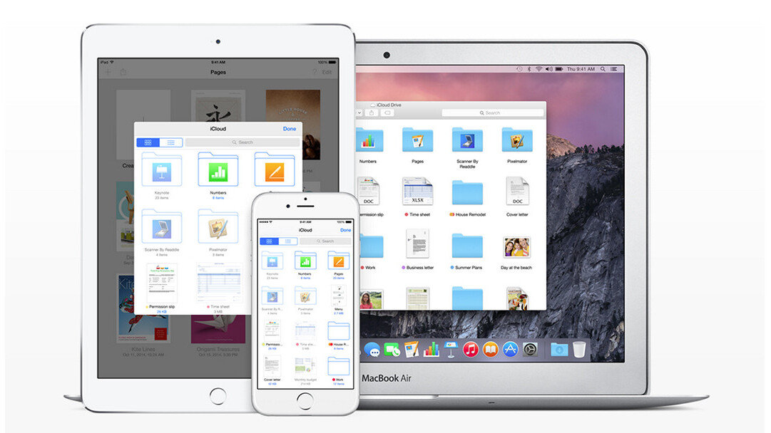 Apple's iOS 9 gives iCloud Drive its own app