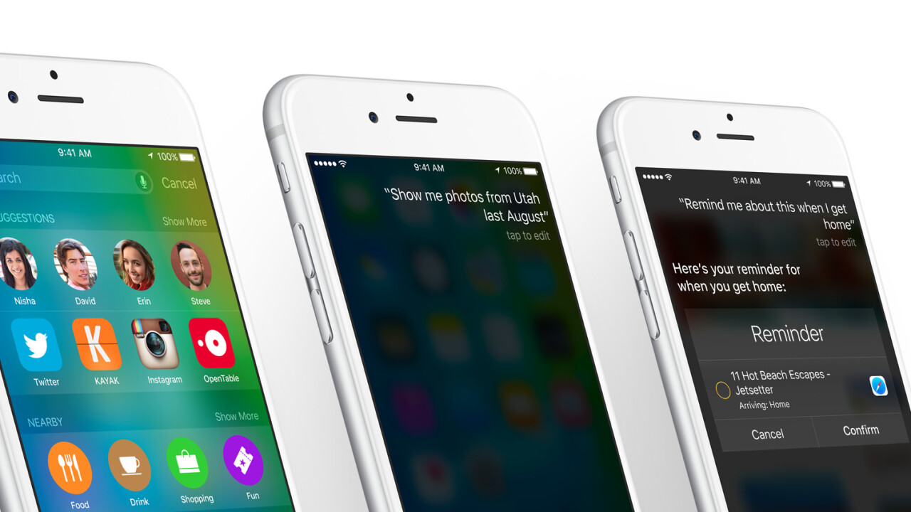 Here are the best iOS 9 features Apple didn't mention at WWDC
