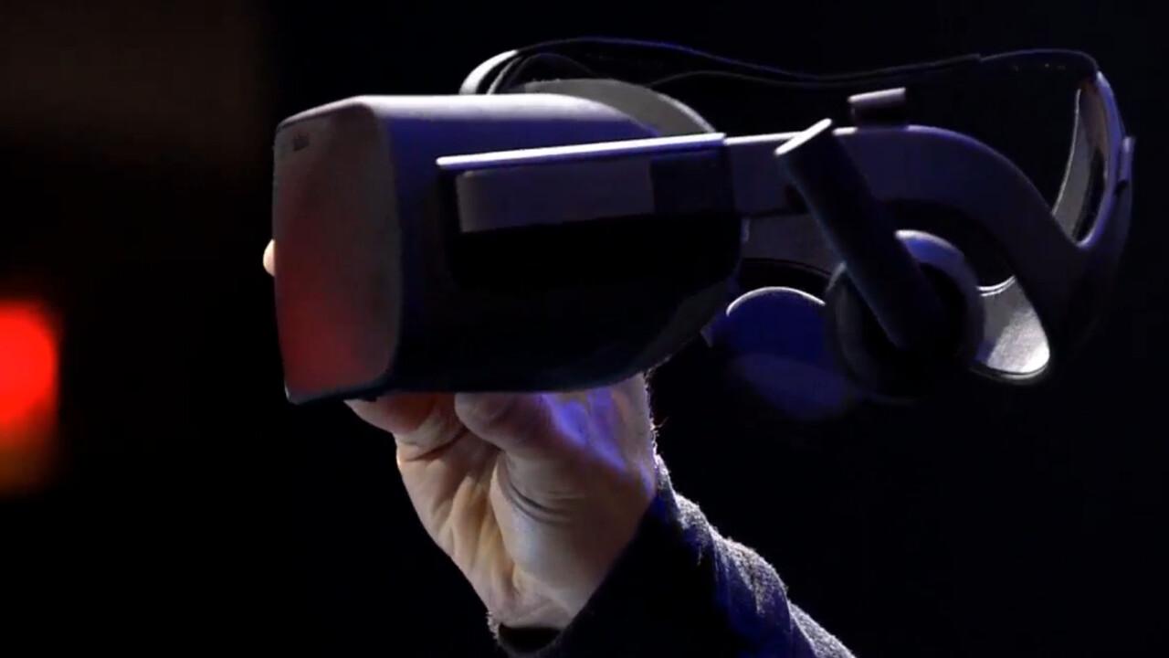 Oculus unveils the consumer Rift, due Q1 2016