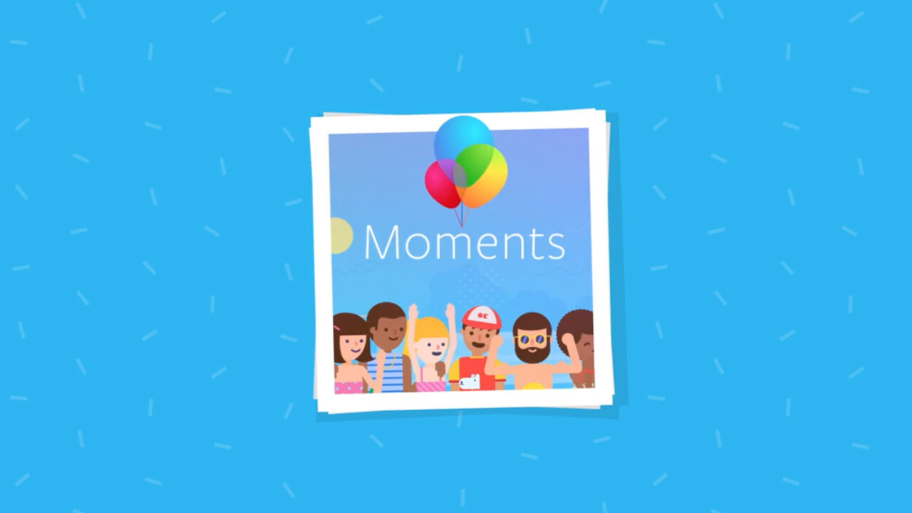 Facebook launches Moments app to find and share photos of your friends using facial recognition