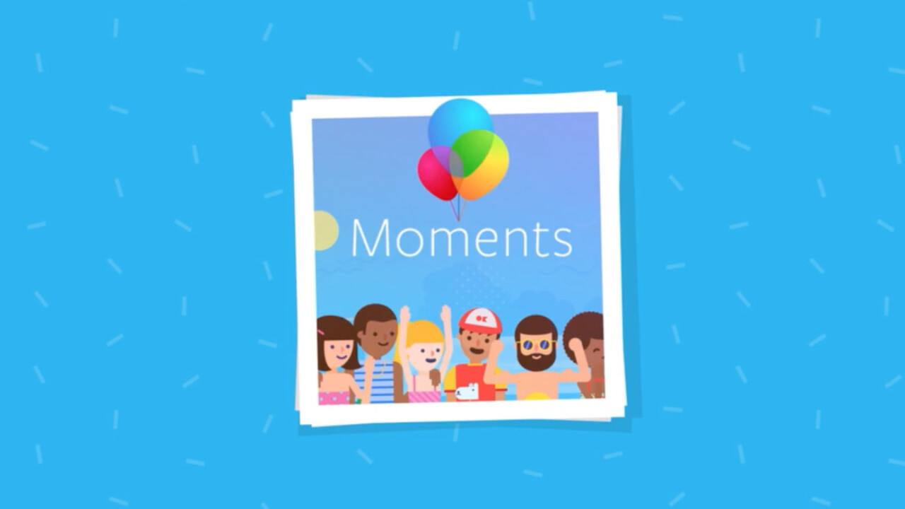 Facebook Moments is finally available in Canada and Europe, but it's been dumbed down