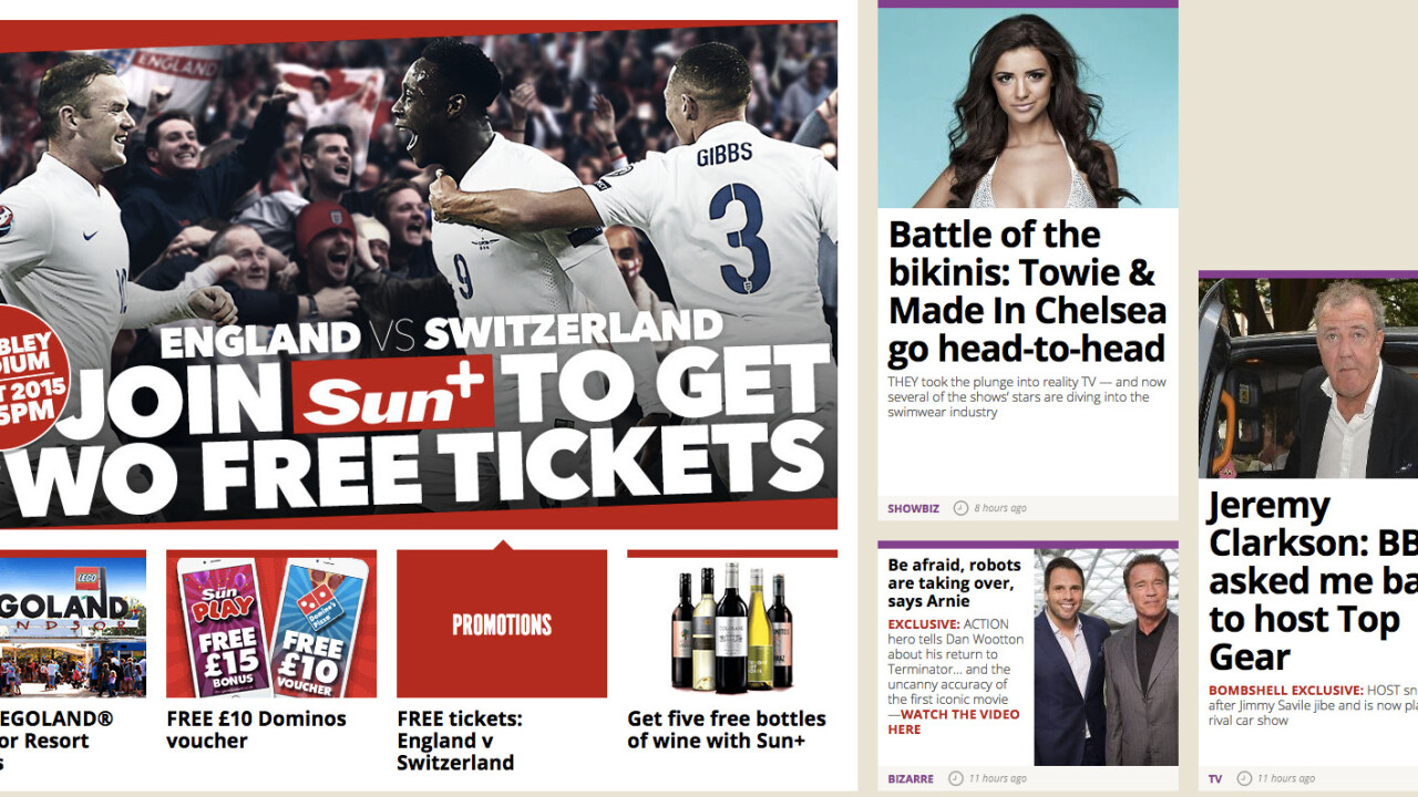 The Sun will relax its paywall to promote content sharing from July