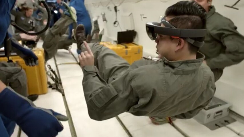 NASA and Microsoft will send HoloLens into space by the end of this year