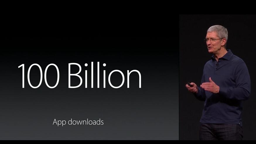 Apple's App Store passes 100 billion downloads, more than $30 billion paid to devs