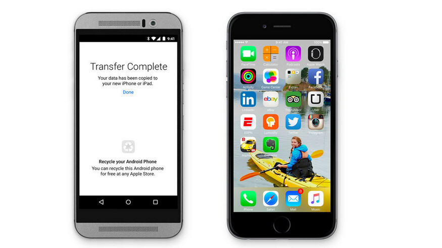 Apple's 'Move to iOS' Android app is hypocritical and its own store rules prove it