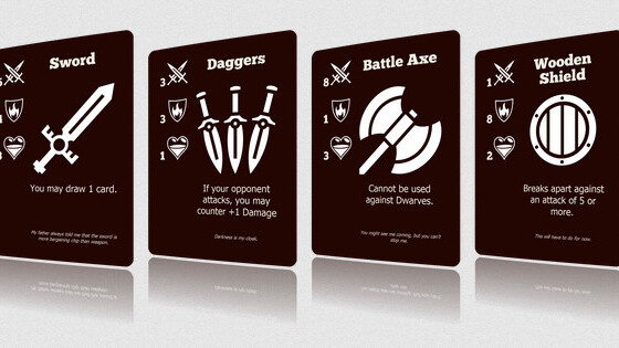 Done with Cards Against Humanity? Squib is a version of Ruby for coding your own card games