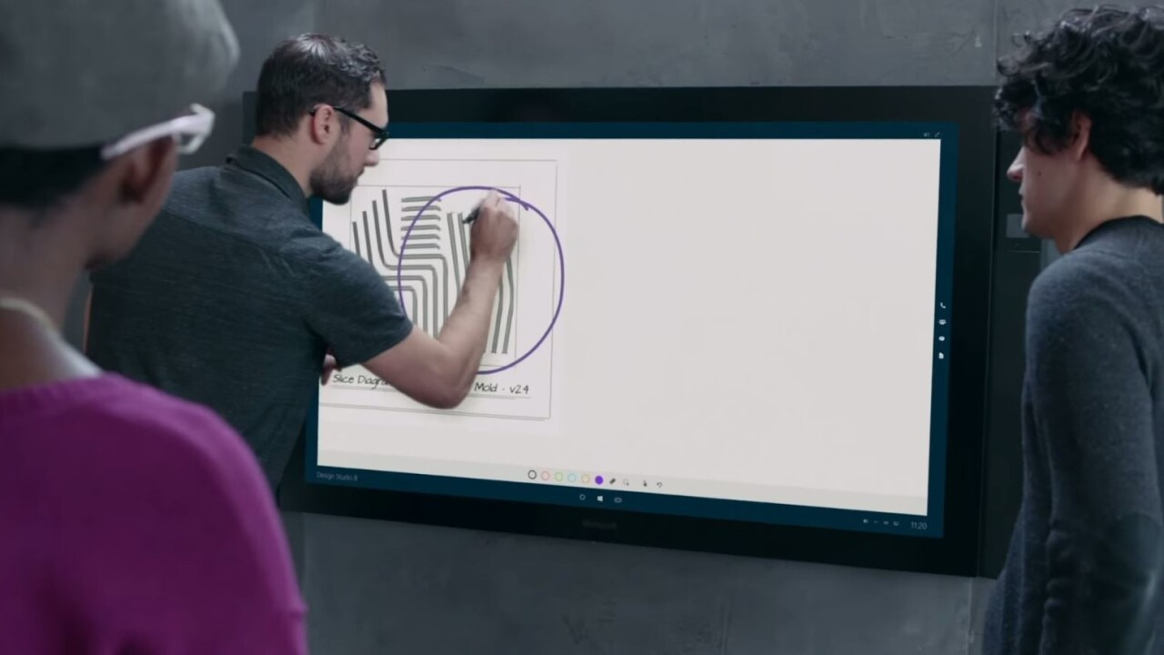 Report: Microsoft is delaying the Surface Hub and giving it a $2,000 price hike
