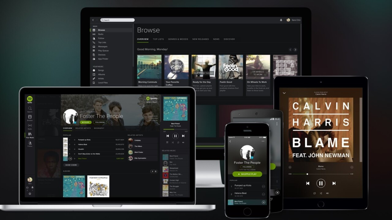 Spotify doubles its paid subscribers in a year, now at 20 million