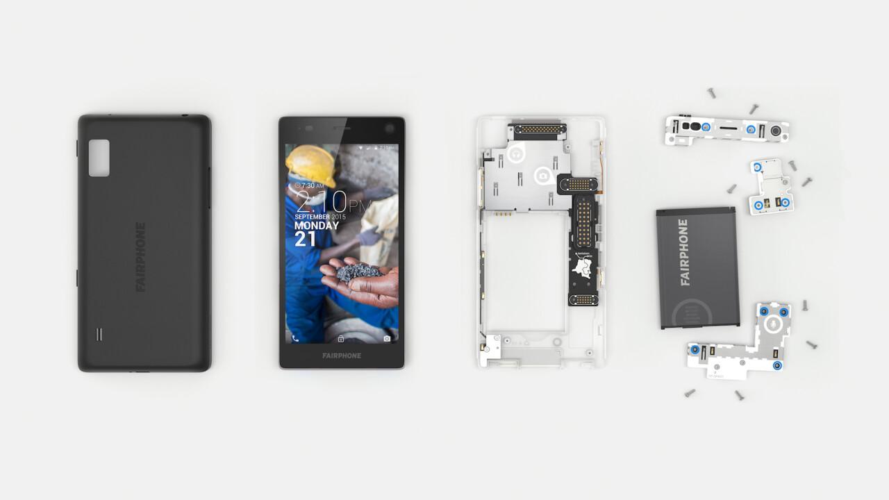 A peek at Fairphone's amazing new modular smartphone