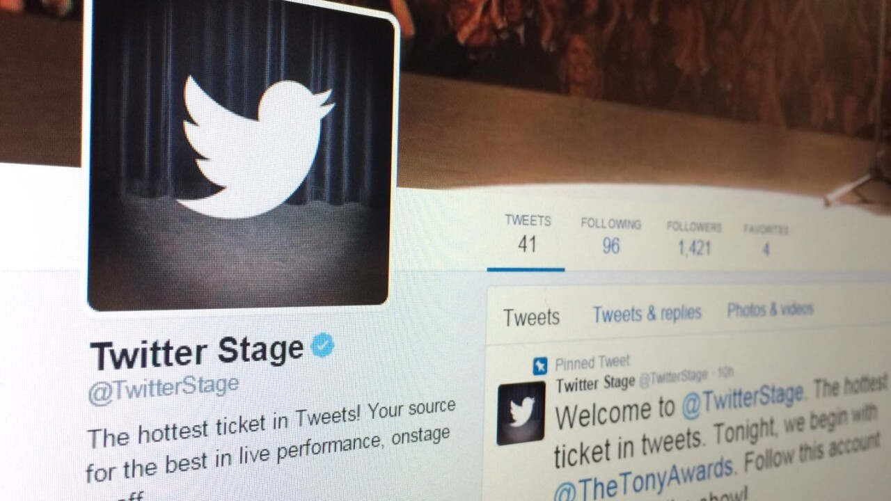 Twitter Stage is a front-row seat at major events in tweet form