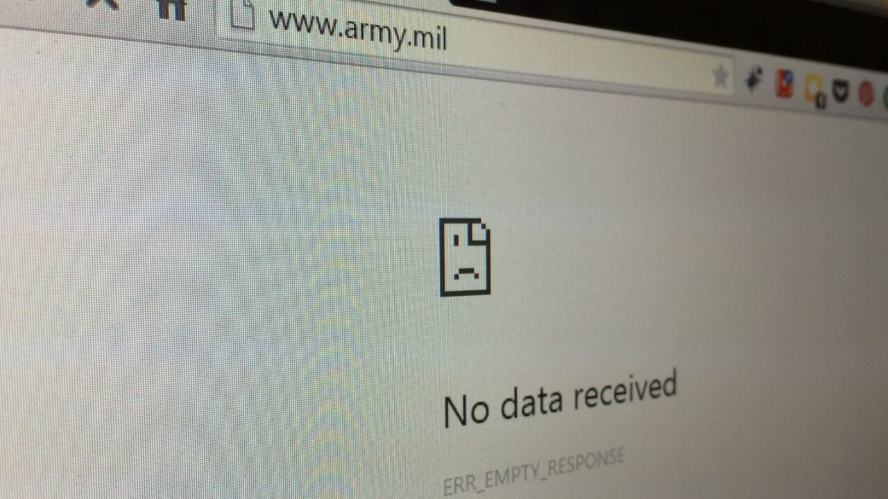 US Army public site taken down, Syrian hackers claim credit