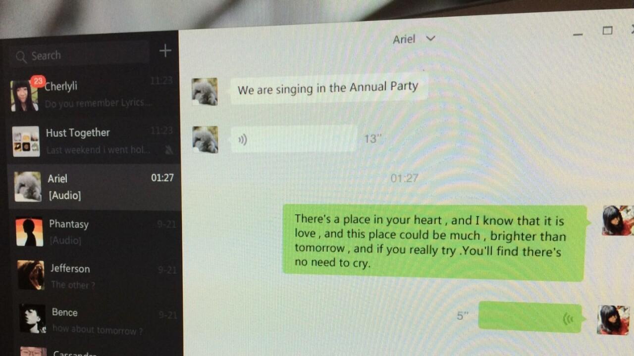 WeChat's Windows app now speaks English