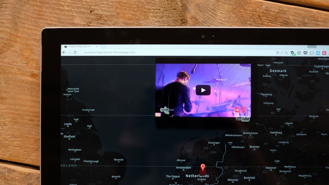 YouTube Map Explorer is an unusual way to discover videos from around the world