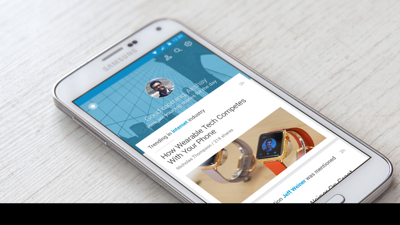 Pulse update has a new card-based look and better news curation for the LinkedIn faithful
