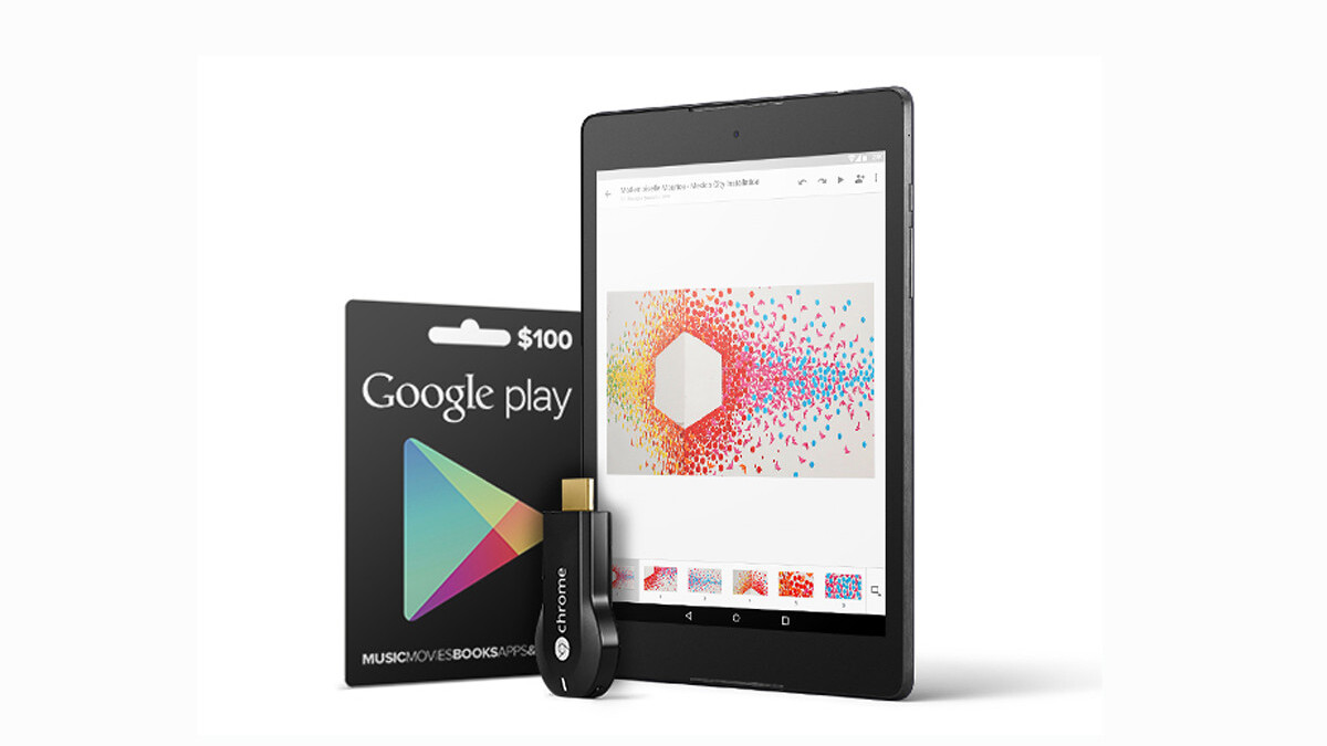 The Google Gadget Giveaway – Win a Nexus 9, Chromecast and $100 of Play credit!