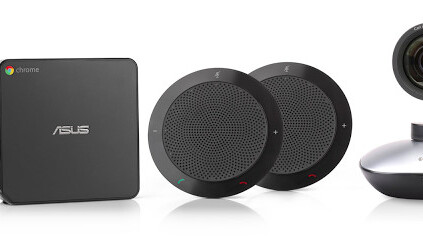 Google introduces new Chromebox for meetings hardware aimed at larger companies