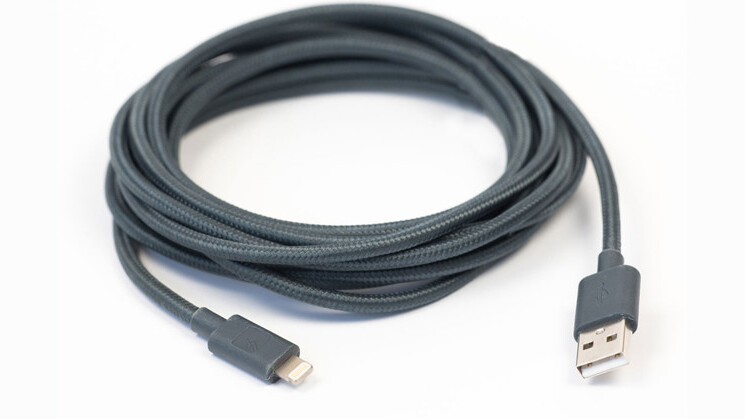 Get 33% off this braided 10-foot MFi-certified Lightning cable