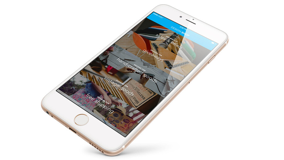 Design Shop for iOS offers a more stylish way to sell your stuff online
