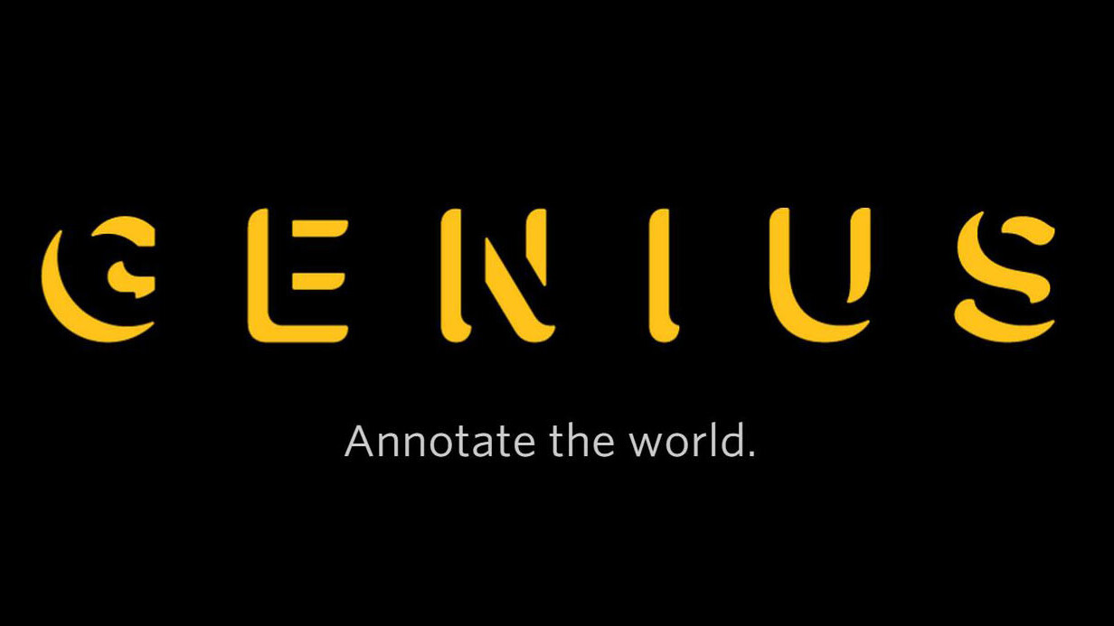 Genius' new API can help developers annotate anything on the Web