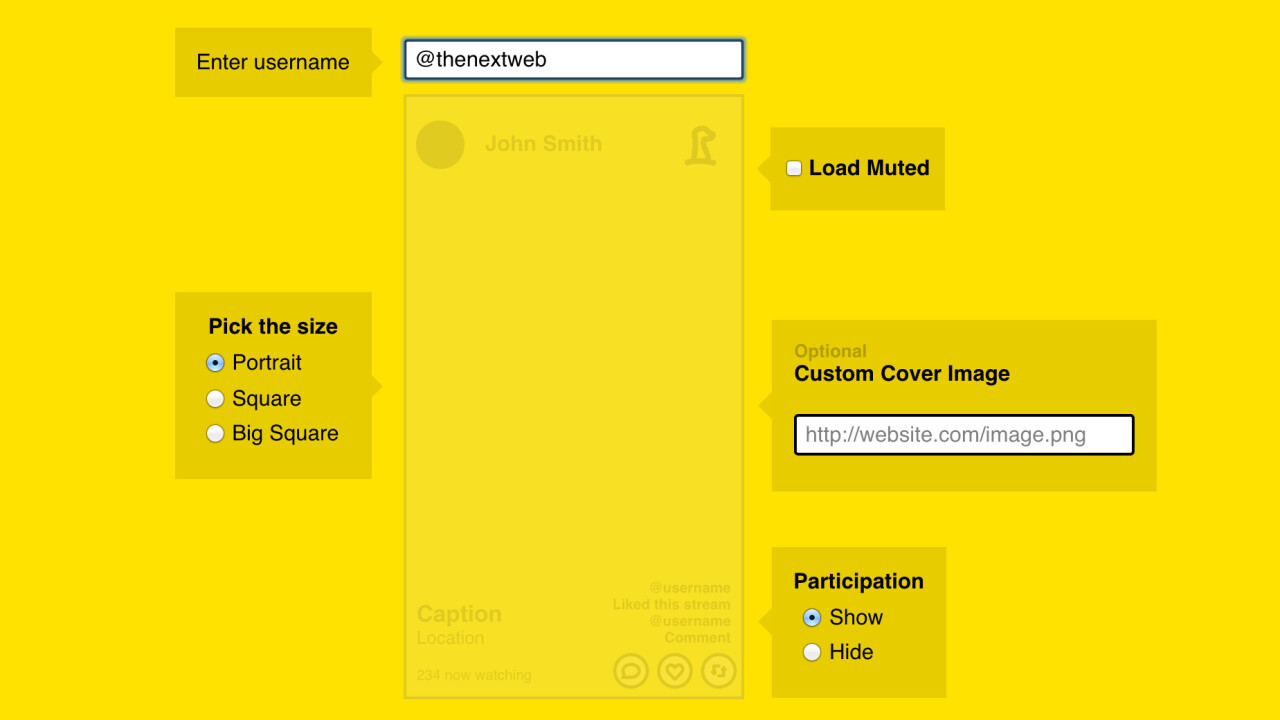 Meerkat now lets you embed its livestream videos on the Web