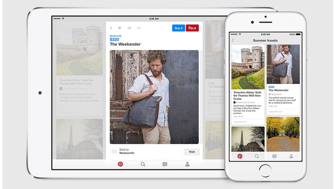 Pinterest's Ben Silbermann sees new buyable pins as a way to earn people's time