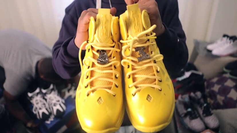 The fastest-growing category of YouTube video blogs? Sneaker hauls