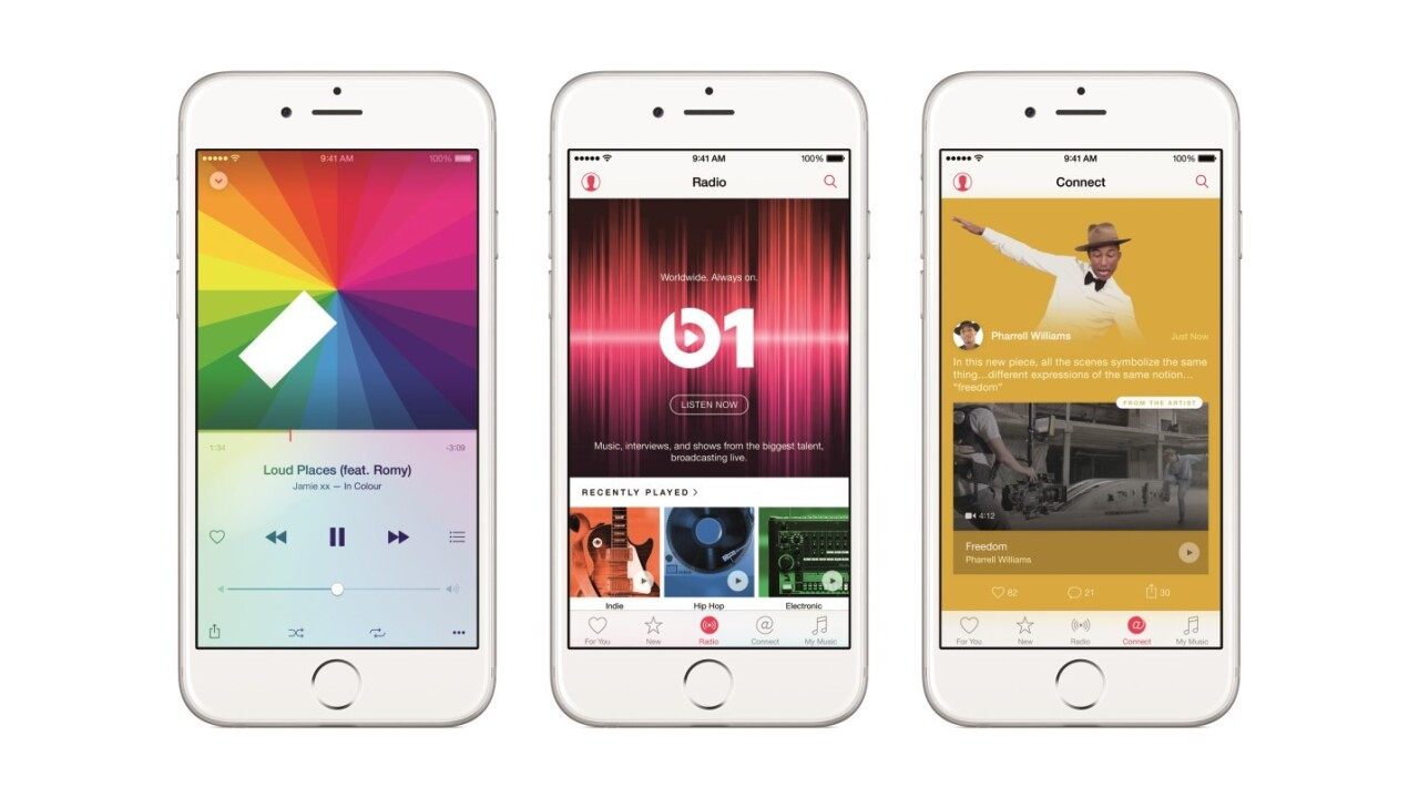 Apple Music has 11 million users after just five weeks