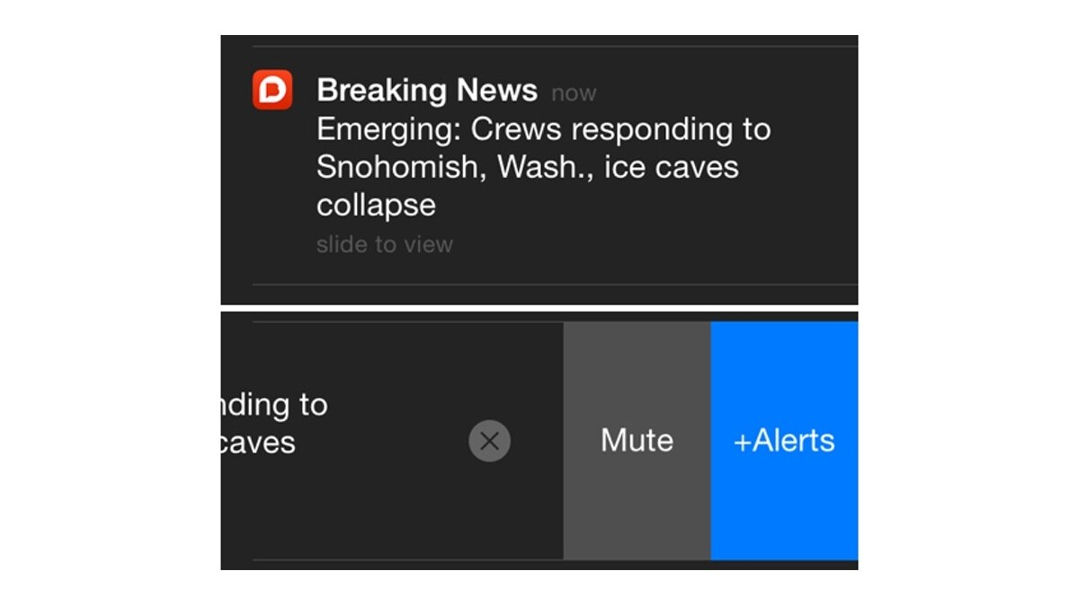Breaking News app now has alerts for emerging stories