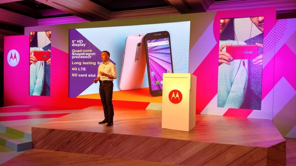 Meet the $180 Moto G, Motorola's newest budget Android phone