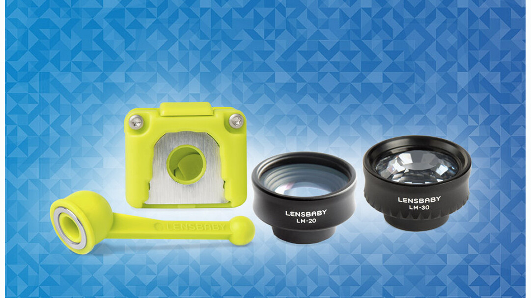 Add panache to your smartphone images with Lensbaby's Creative Mobile Kit
