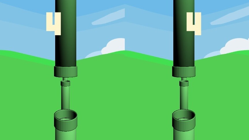 This Cardboard version of Flappy Bird for Android lets you play as the bird in 3D