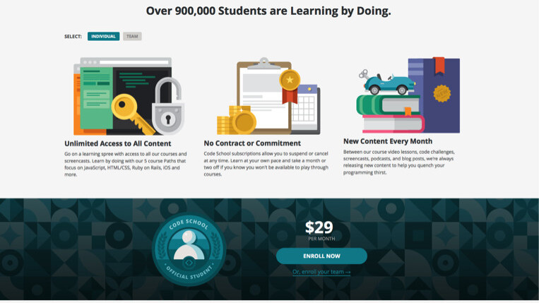 Want to learn a programming language? Code School is dropping its paywall this weekend