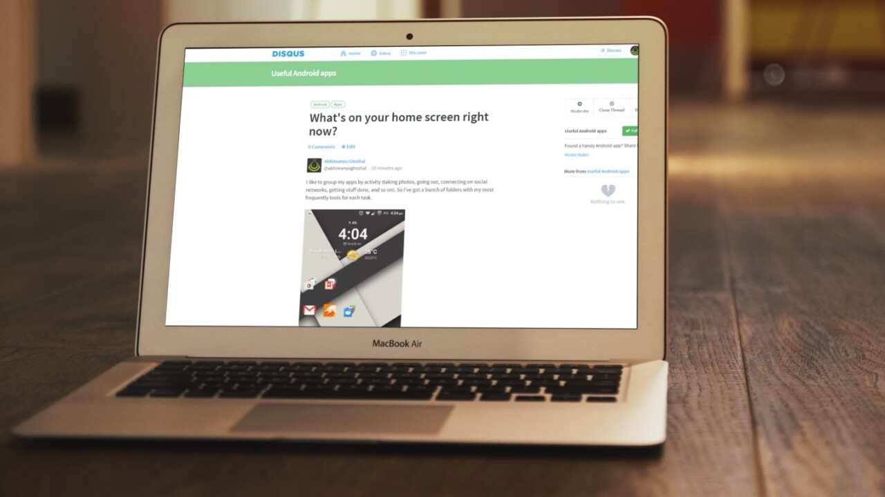 Tired of Reddit drama? Disqus now you lets create your own forum