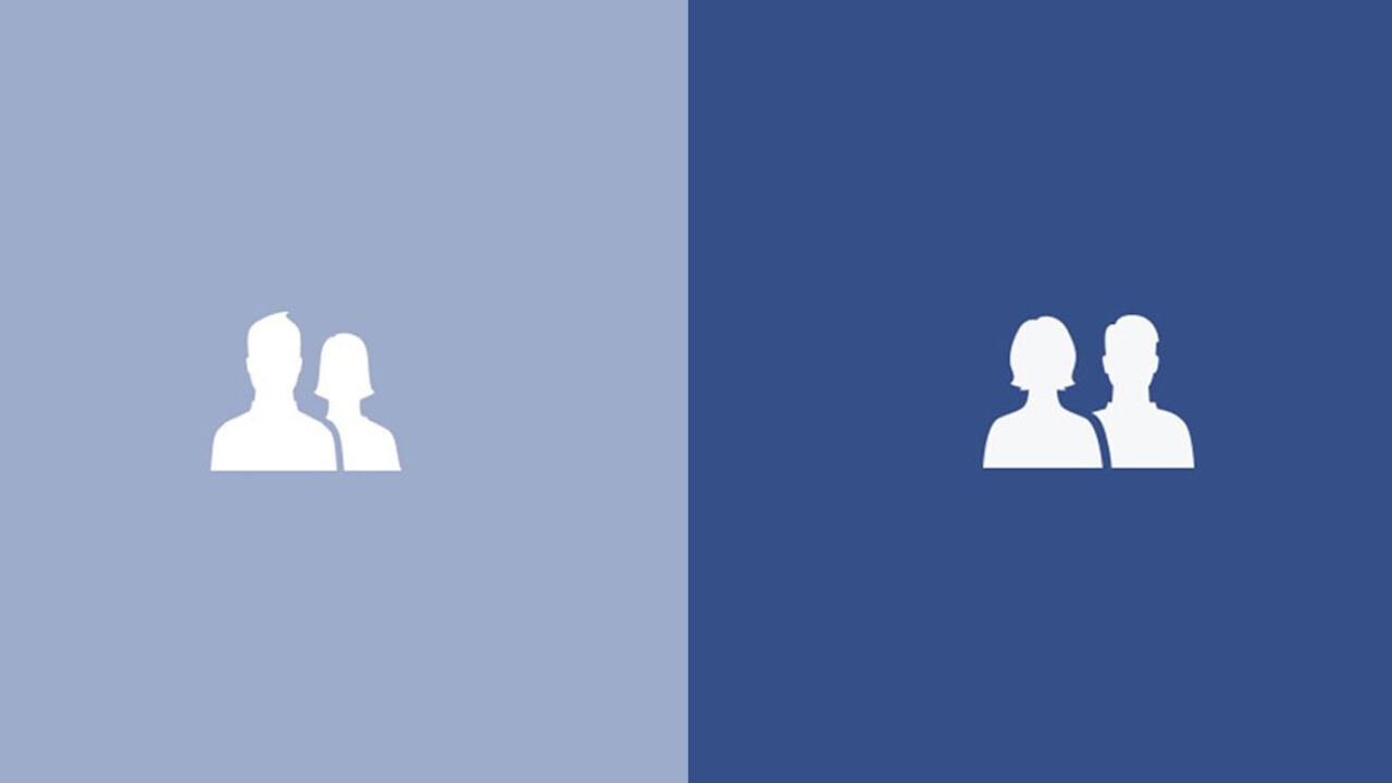 Can you spot the important change in Facebook's friends icon?