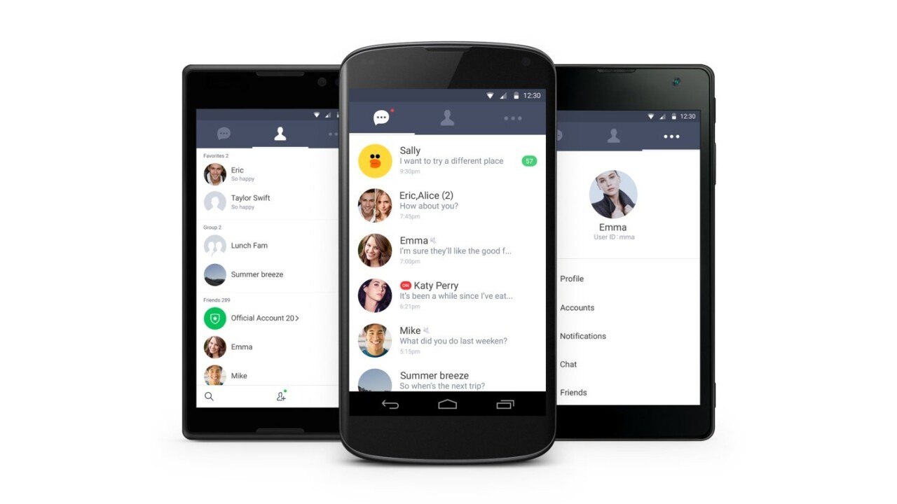 Line launches a lightweight version of its messaging app for Android users