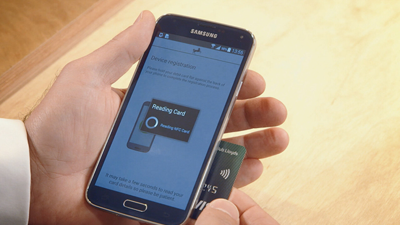 UK bank Lloyds trials NFC for simpler account authorization on your mobile