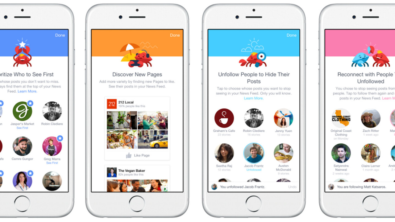 Facebook's revamped News Feed tools make sure you spot the updates you really want to see
