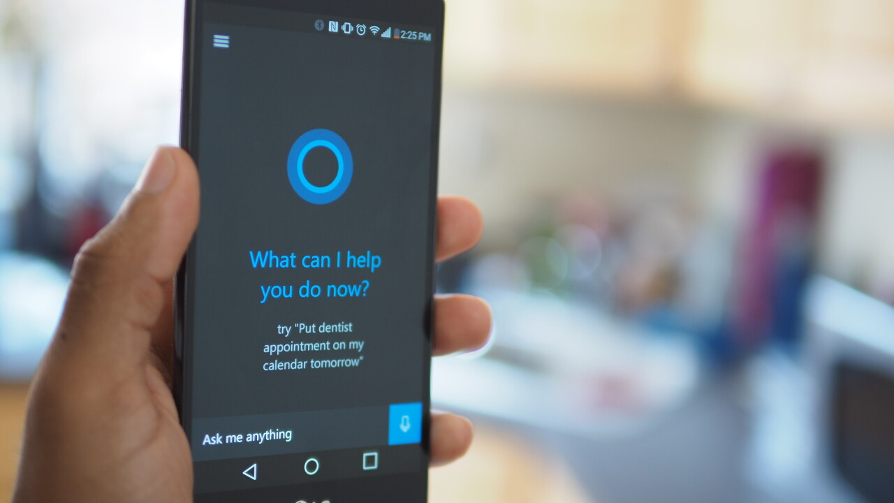 Microsoft's Cortana assistant for Android leaks early, Hyperlapse video app opens to all
