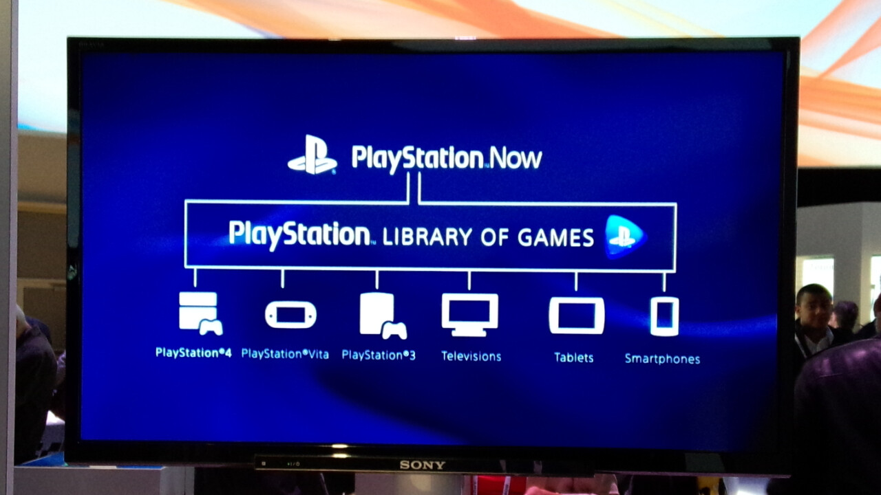 Sony's Playstation Now game streaming service beta launches in the UK