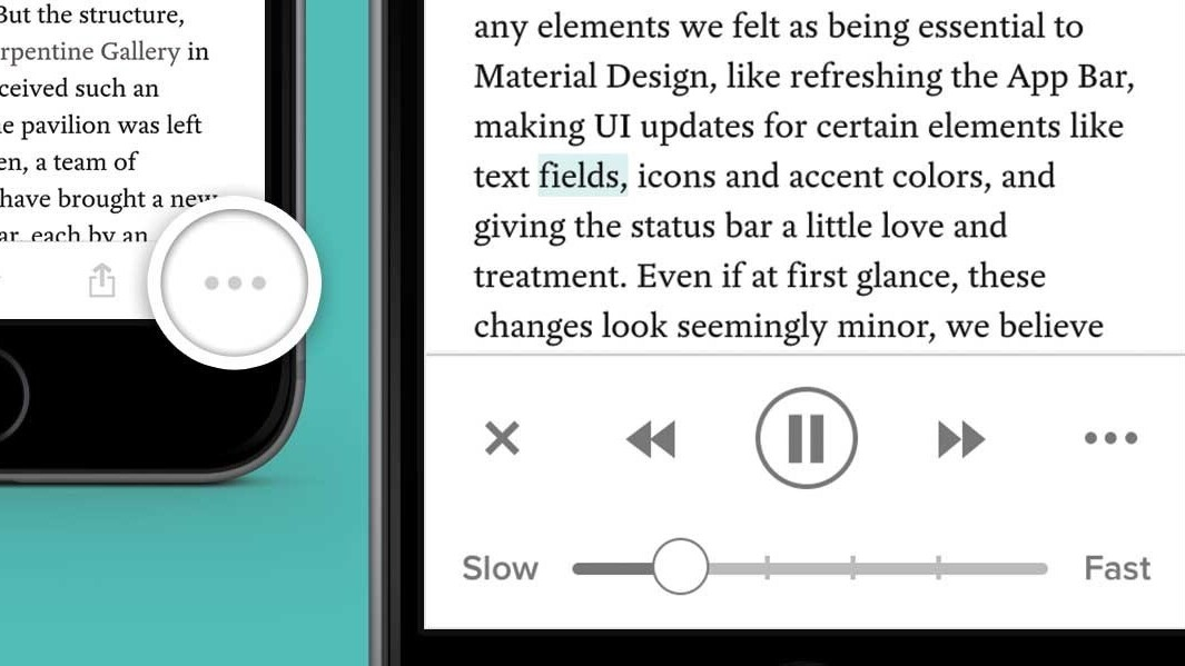 Pocket for iOS will now read your articles to you