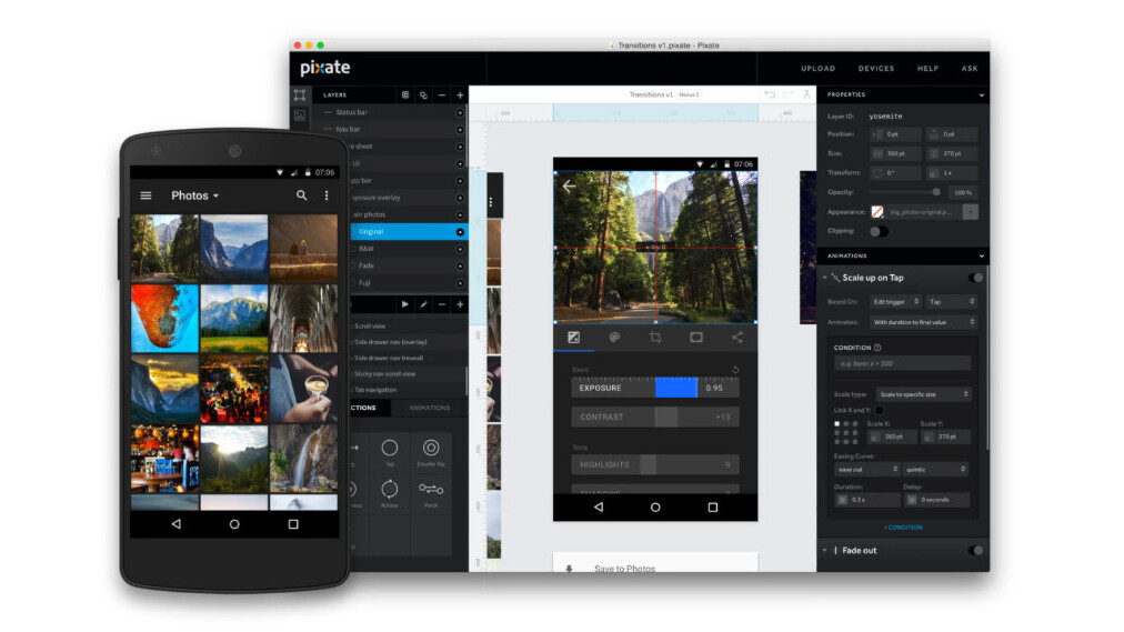 Google buys Pixate, updates Form to bring more Material Design to your apps