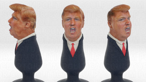 3D-printed Donald Trump butt plug is the best the asshole has ever looked