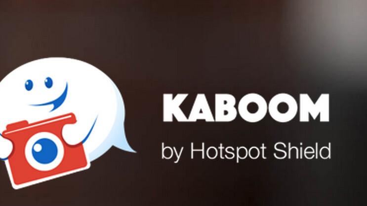 Kaboom lets you send self-destructing messages to social networks