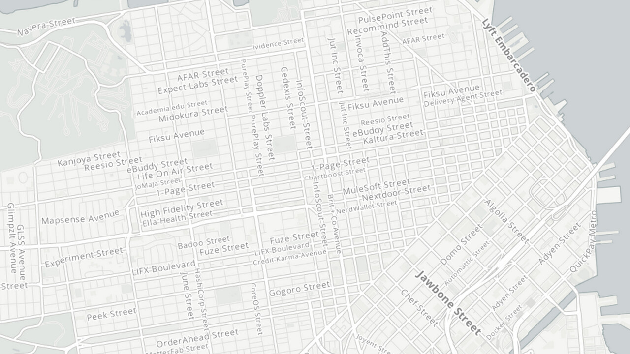 See San Francisco reimagined as a startup map