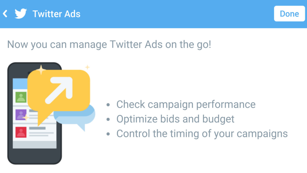 Twitter is testing an ad campaign manager for Android and iOS [Updated]