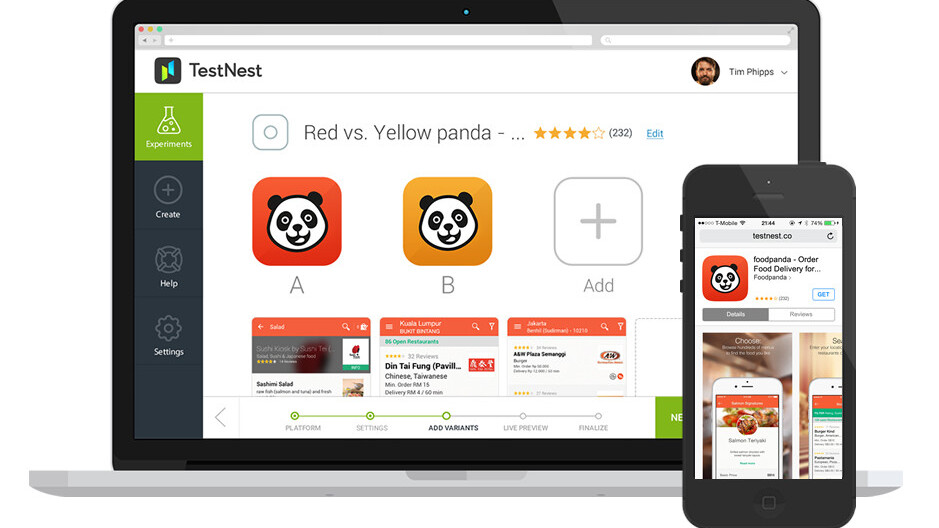 TestNest offers insightful automated A/B marketing for iOS app developers