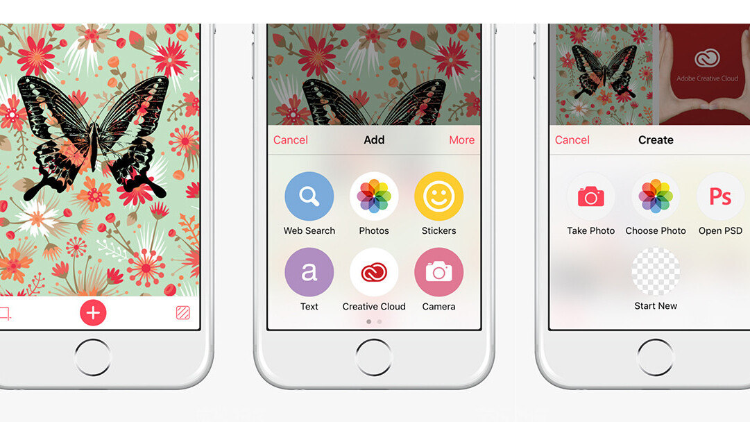 Bazaart photo app for iOS now integrates with Adobe Creative Cloud