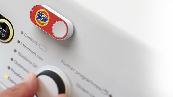 Amazon Dash buttons are here for $5 each