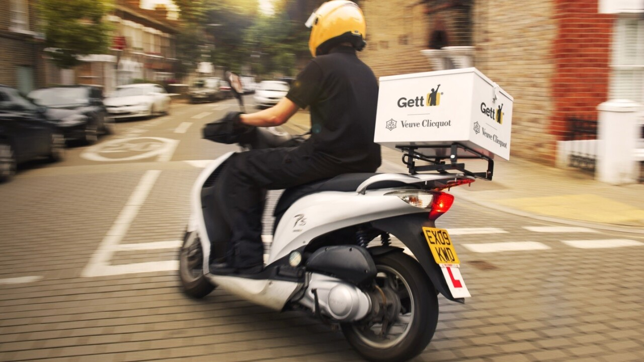 Gett expands beyond just taxis in London, but only if you need £50 champagne in a hurry