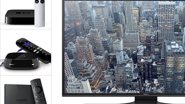 Win a Samsung 50-inch 4K TV and your choice of streaming media device
